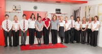 Corporate Group Photo Shoot in Showroom