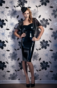 Latex Fashion Photography On Location