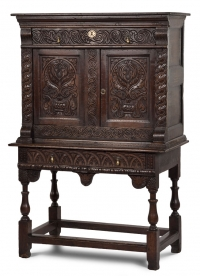 Carved Cabinet on Stand Furniture Photography