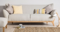 Grey Sofa Furniture Photography
