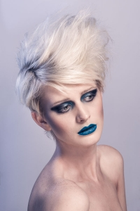 Cool Themed Studio Beauty Photography