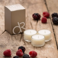 Berry Scented Candles Product Photography