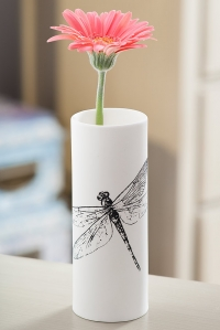 Dragonfly Vase Product Photography