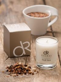 Fruit Tea Scented Candles Product Photography