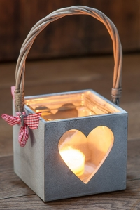 Heart Candle Holder Product Photography