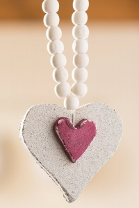 Heart Shaped Ornament Product Photography