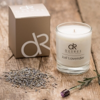 Lavender Scented Candles Product Photography